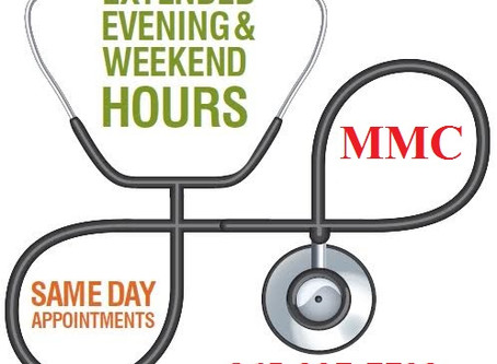 MMC Soon Offering Evening & Saturday Clinic Hours!