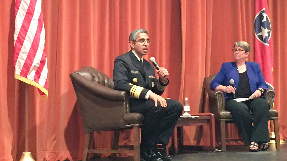 U.S. Surgeon General, Dr. Murthy in Knoxville TN town hall meeting