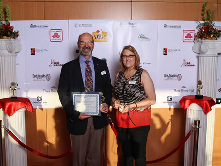 MILLENNIUM BULK TERMINALS-LONGVIEW WINS EDUCATION AWARD