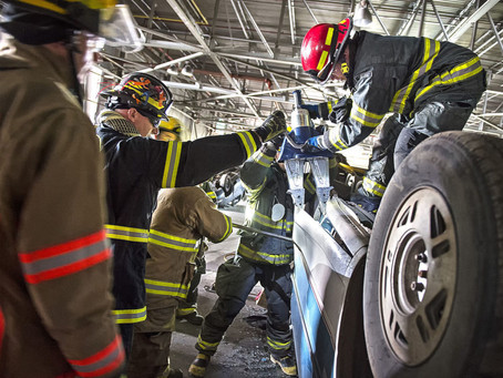 MILLENNIUM HOSTS TWO-DAY FIREFIGHTER TRAINING