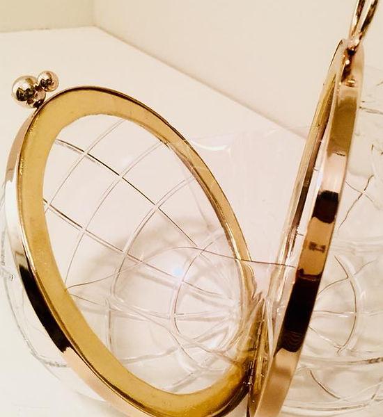 Transparent Globe Shaped Clutch