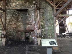 Inside Hopewell Furnace
