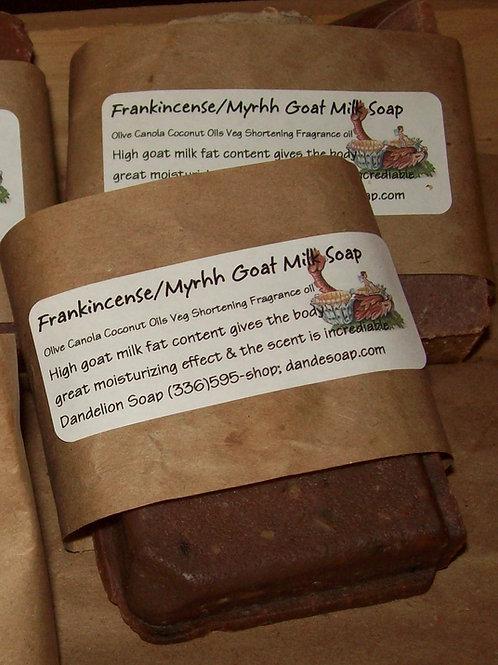 Frankincense/Myrrh Goat Milk Soap