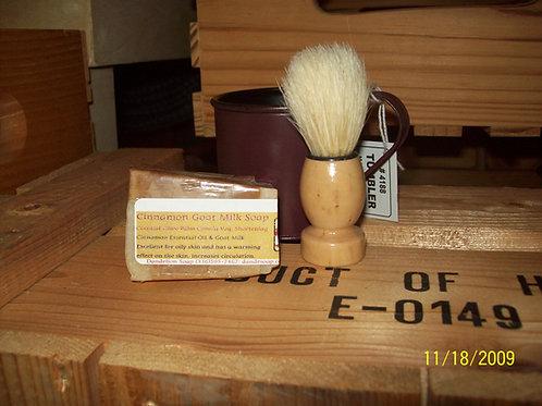 Burgundy Mug Shaving Kit