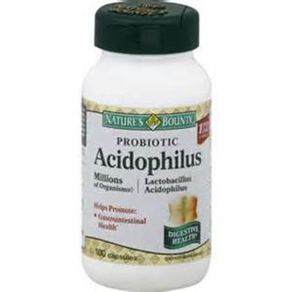 Acidophilus W/Probiotics 50 ct