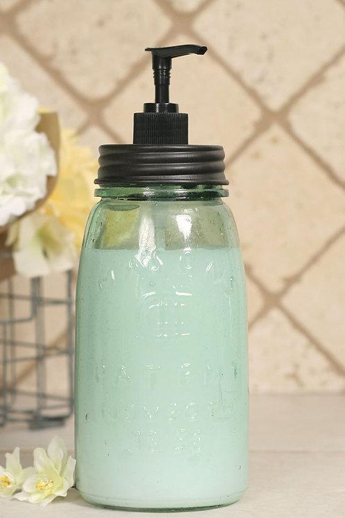 Quart Mason Jar Lotion/Soap Dispenser