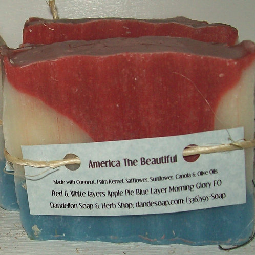America The Beautiful Soap