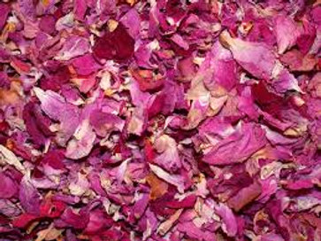 Red Pink Roses, Whole Petals