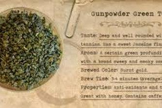 Green Tea, Gunpowder