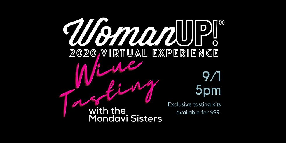 2020 WomanUP! Virtual Wine Tasting