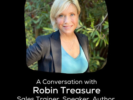 8-13 * WomanUP! Weekly LIVE w/ Robin Treasure