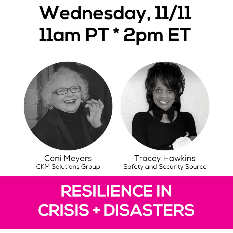 Resilience In Crisis + Disasters
