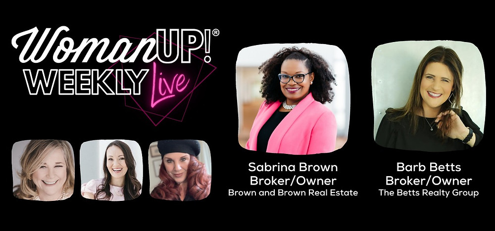 WomanUP!® Weekly Live with Pam Blair