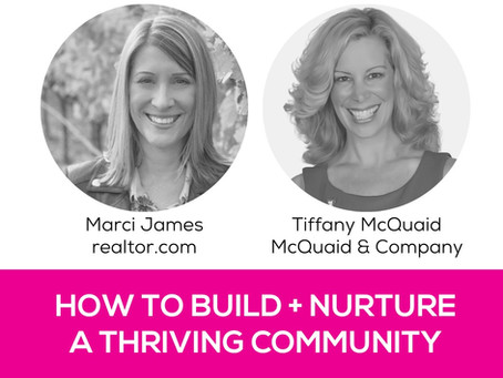 WomanUP!® Wisdom Series * How to Build and Nurture a Thriving Community