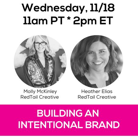 Building An Intentional Brand