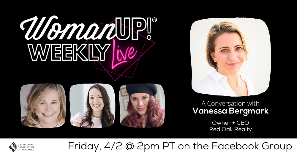 WomanUP!® Weekly Live with Vanessa Bergmark