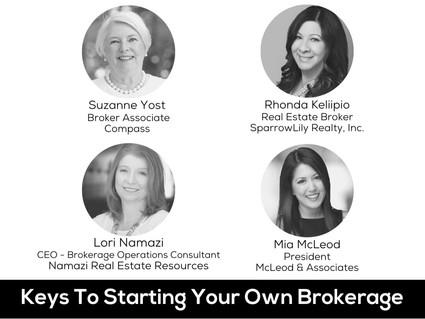 WomanUP!® Wisdom Series * Starting A Brokerage