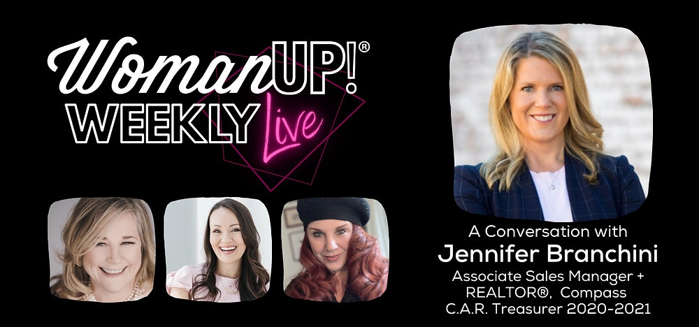 WomanUP!® Weekly Live with Jennifer Branchini