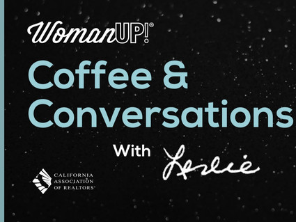 Coffee & Conversations with Leslie!