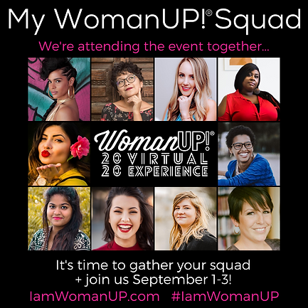 My WomanUP! Squad 2020