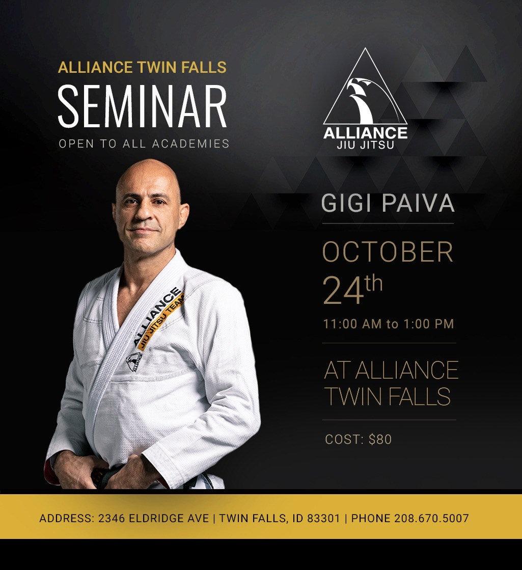 """Alexandre """"Gigi"""" Paiva Seminar"""