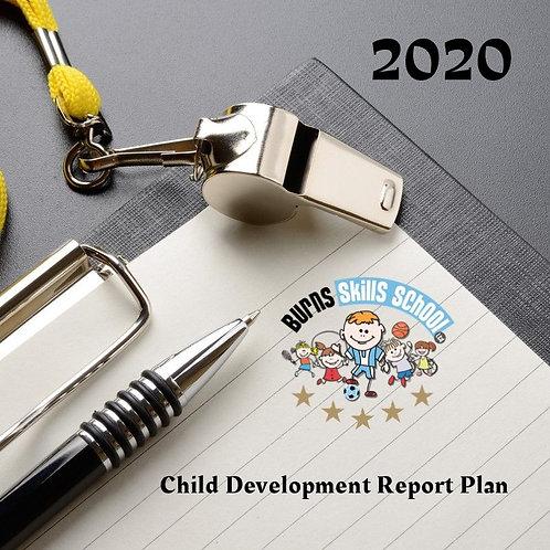 Child Development Report Plan