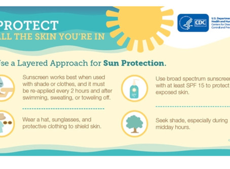 Discover the 5 S's of Sun Safety