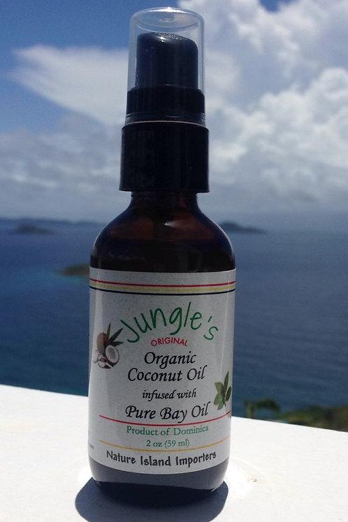 Coconut Oil/Bay Oil Blend 2oz