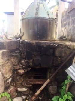 Distillery after Hurricane Maria