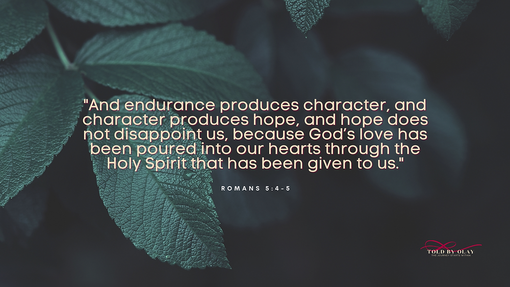 Romans 5 Told by Olay