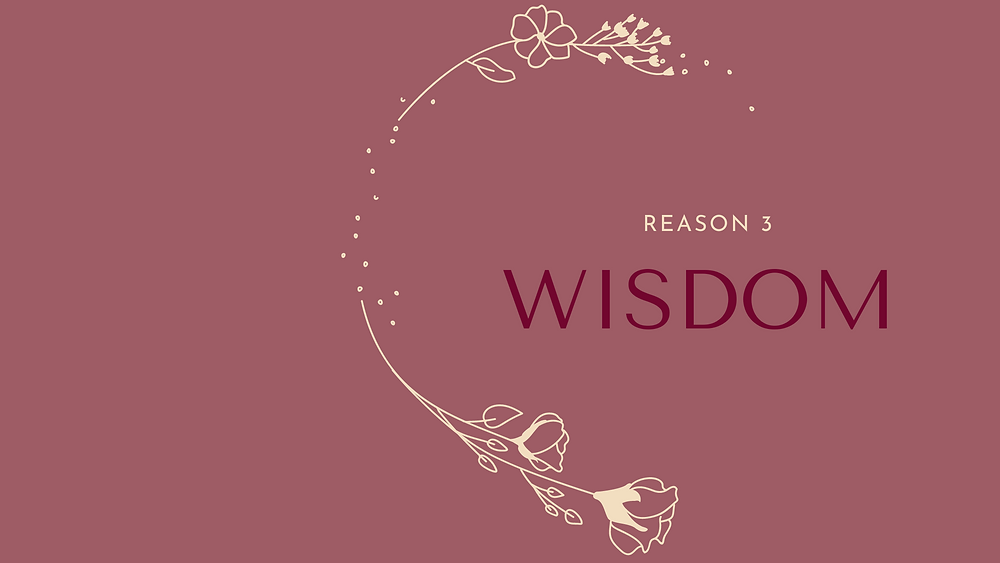 Wisdom is key for us to have discernment to make decisions #TOLDBYOLAY