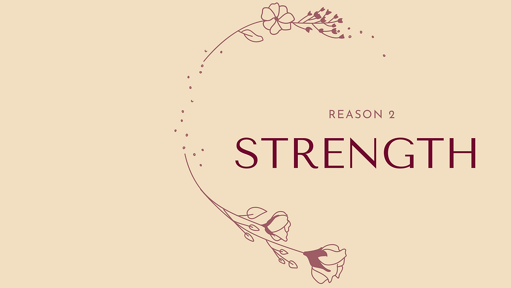 By growing in faith we get stronger. #TOLDBYOLAY