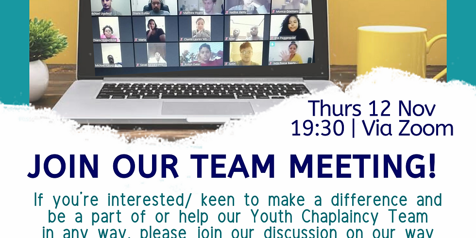 We're recruiting! Join our team meeting