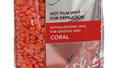 Coral synthetic hard wax