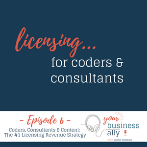 Licensing...for coders & consultants