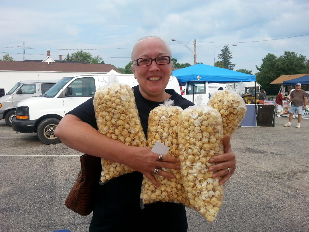 farmers market kettle corn