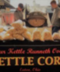 Cincinnti Premium Outlets Monroe, Ohio kettle corn