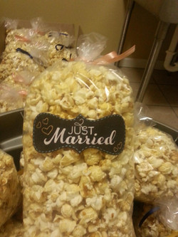 wedding kettlecorn