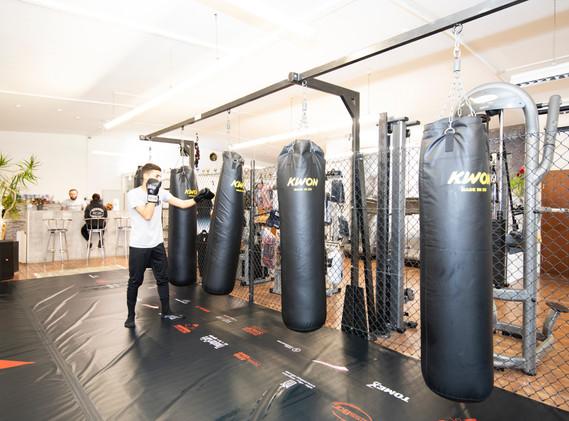 Kampfsportbereich