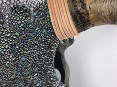 Texture - glistening Swarovski crystals