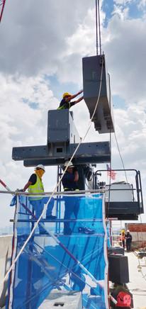 BMU installation, repair, BMU malaysia repair gondola