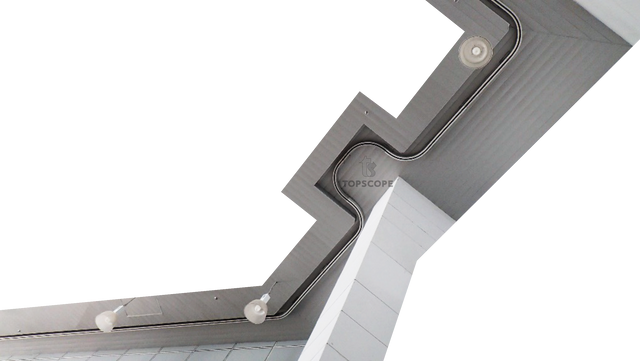 monorail system koltek noracon rostek aluminium track trolley abseil rope access EN1808 gantry ladder platformmonorail system koltek noracon rostek aluminium track trolley abseil rope access EN1808 gantry ladder platform