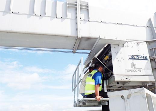 BMU gondola repair maintenance service JKKP DOSH inspection PMA renewal