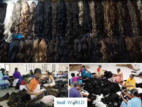 Sourcing Human Hair, Wigs and Hair Extension from India