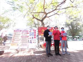 民建聯全港宣傳「變革香港 保穩定 促公平 享繁榮」倡議 新年向政府提三點願望