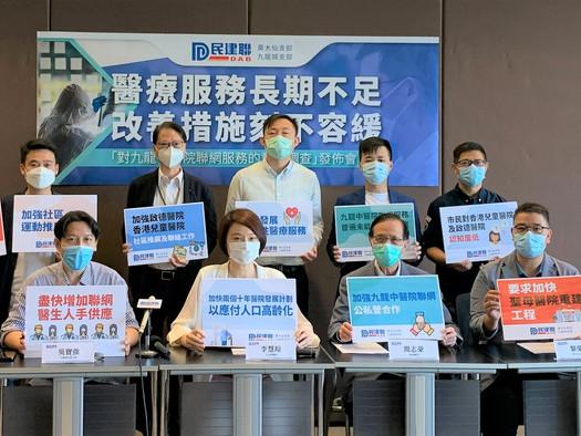 對九龍中醫院聯網服務的意見調查