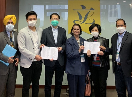 HKSAR Government mapping our arrangements of charter flights