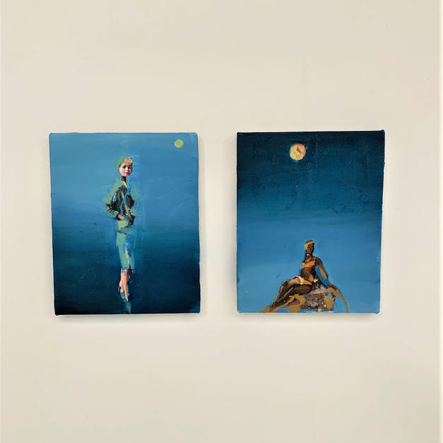 Moon (I) (II)
