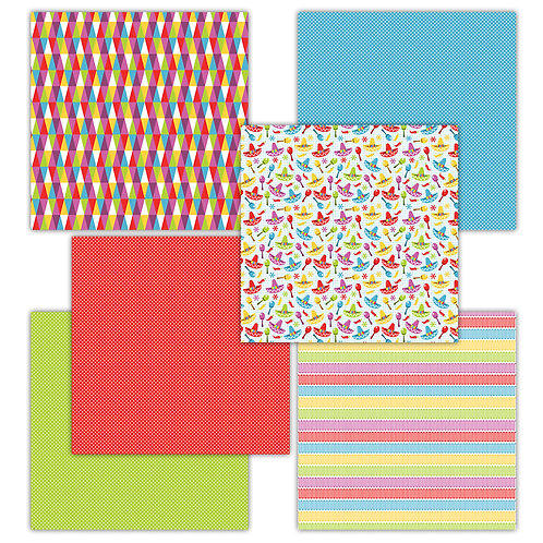 Taco Time 6 x 6 Fun Sheets