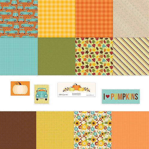 Pumpkin Patch 4x4 Fun Sheets